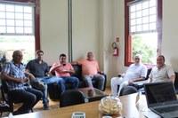 Diretor do Hopistal São Sebastião, Dr. Manoel Vidal, visita o presidente da Câmara