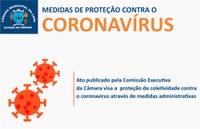 Câmara da Lapa adota medidas de prevenção ao coronavírus