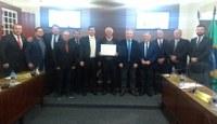 Felício Pianovski recebe titulo de Cidadão Honorário da Lapa