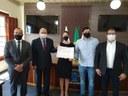 Juíza da Comarca recebe título de cidadã Honorária da Lapa