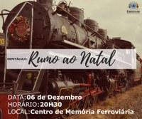 Maria Fumaça vai encantar o Natal na Lapa