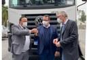 Município da Lapa recebe caminhão caçamba
