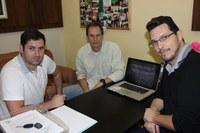 Vereadores Célio Guimarães e Arthur Vidal recebem representante do Instituto Semeia para falar sobre possível terceirização no Parque Estadual do Monge