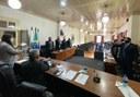 Vereadores, Prefeito e Vice-Prefeito tomam posse em solenidade no plenário da Câmara